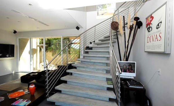 15 Residential Staircase Design Ideas | 11 conceretewithsteelrailings | Pinned Directory Kenya